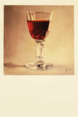Greeting Card <br>My Things: Antique Sherry Glass