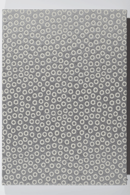 Notebook<br>grey bubbles