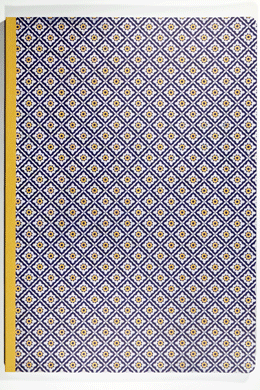 Notebook<br>yellow-eyed rhombi